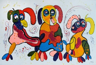 Color Dogs